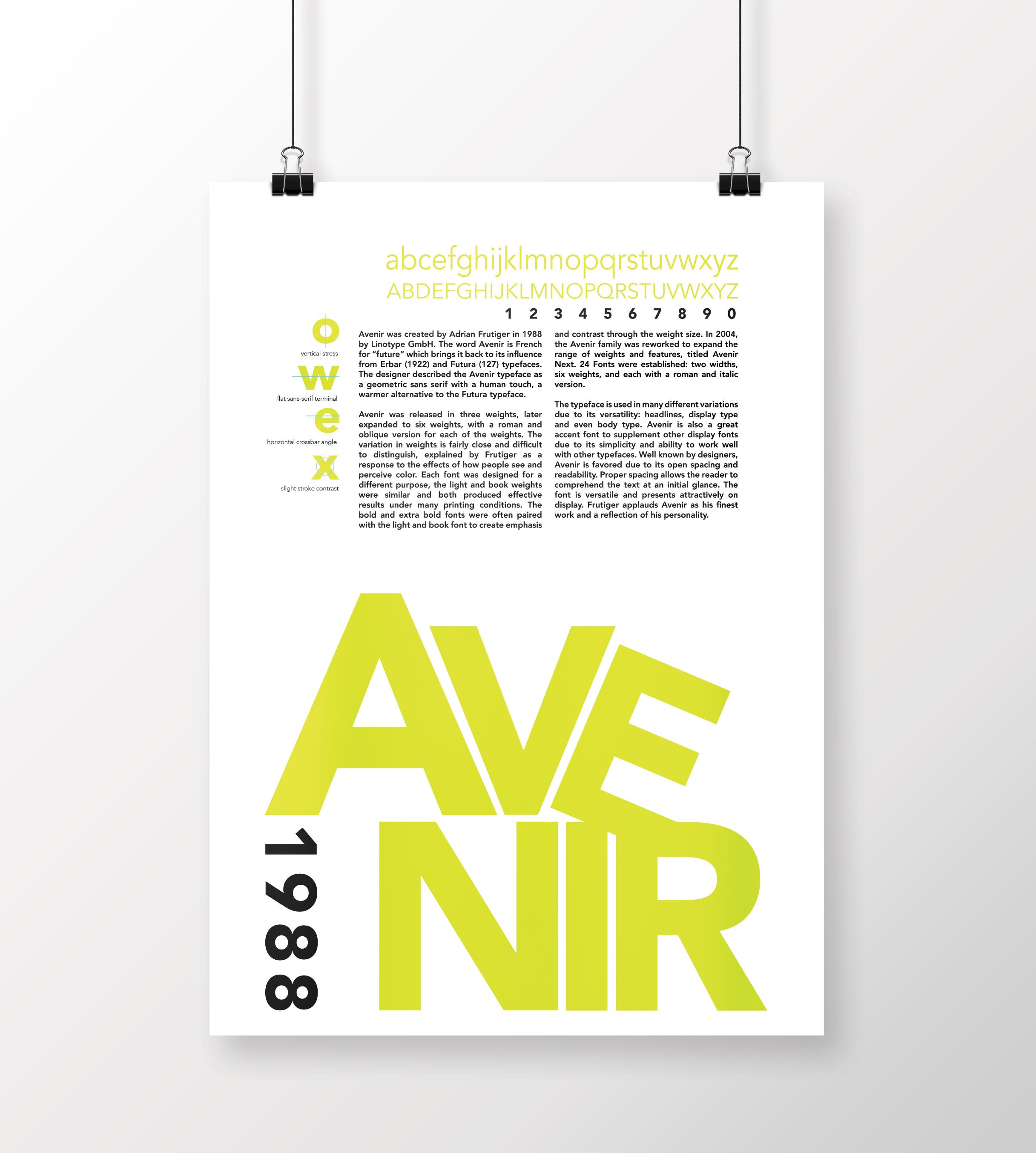 Typographic Posters – Angela Lemp